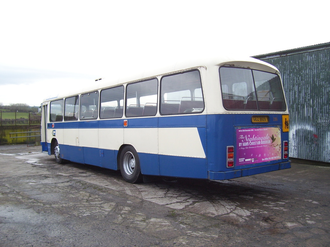 Ulsterbus, Leyland Leopard 286 - Ards Bus Preservation Group